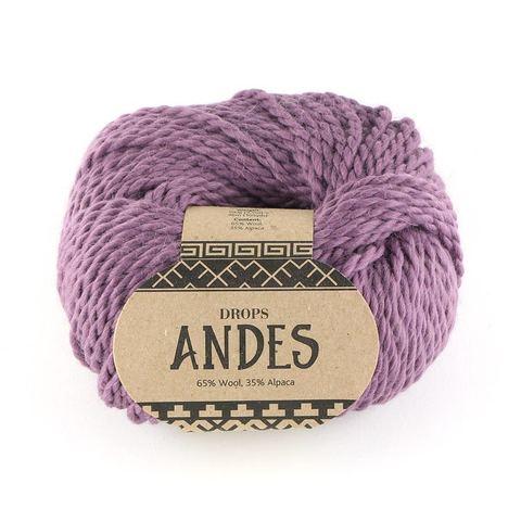 Пряжа Drops Andes 4300 пыльная роза