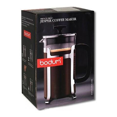 Френч-пресс Bodum Jesper (0,35 литра), хром