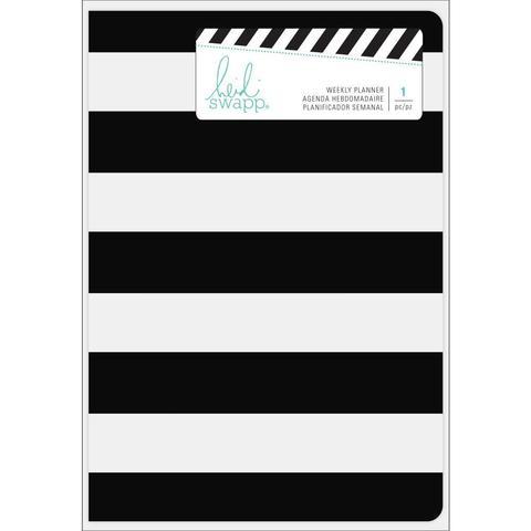 Ежедневник с наполнением  Heidi Swapp Weekly Planner Spiral Bound -Stripe