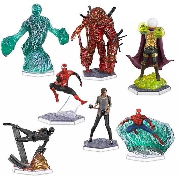 Набор фигурок Человек-паук: Вдали от дома Disney Marvel 7 фигурок
