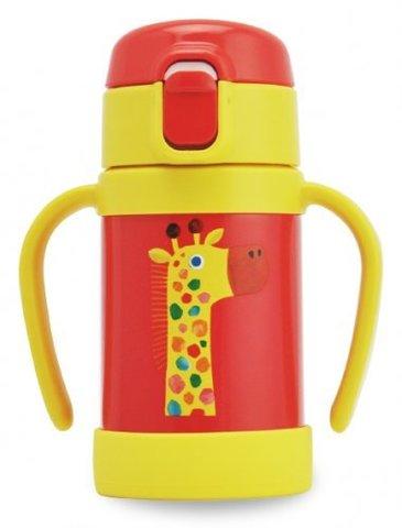 Термос детский Tiger MCK-A (0,28 л), жираф