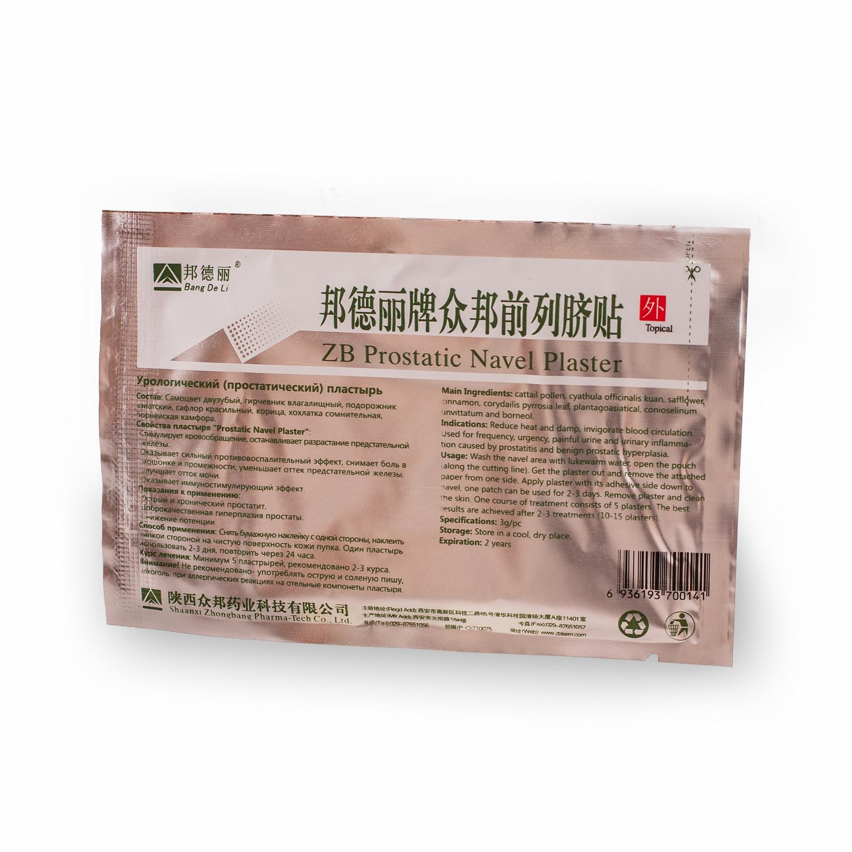 Урологический пластырь Prostatic Navel Plasters, 1 шт