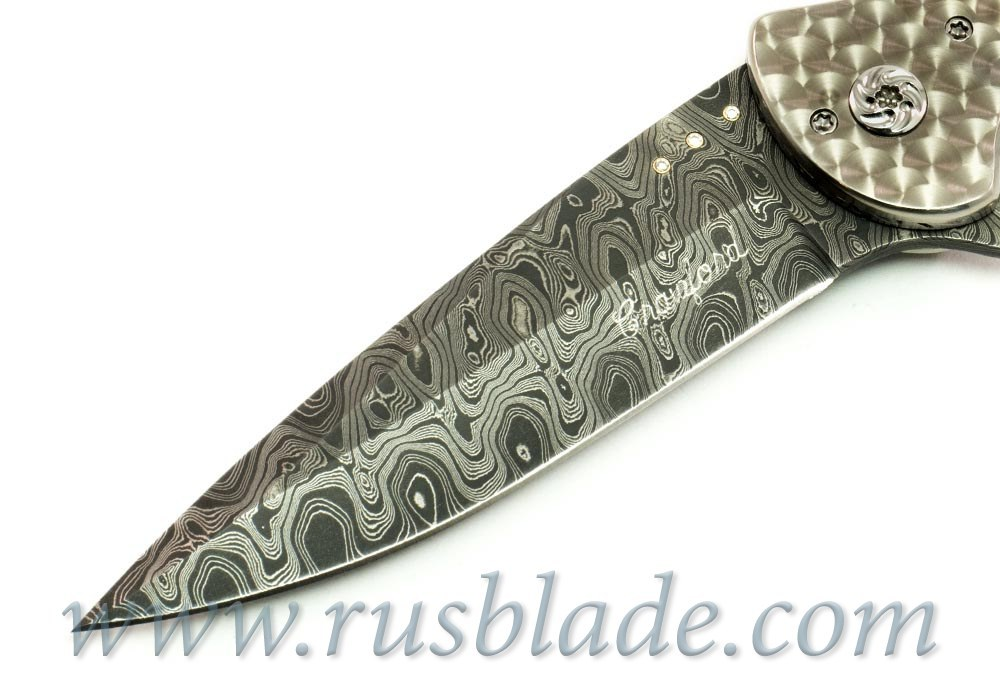 Dressed Flipper - 8 Diamond Inlays Crawford - фотография