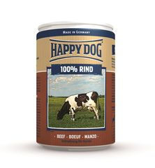 Консервы для собак Happy Dog 100% Говядина