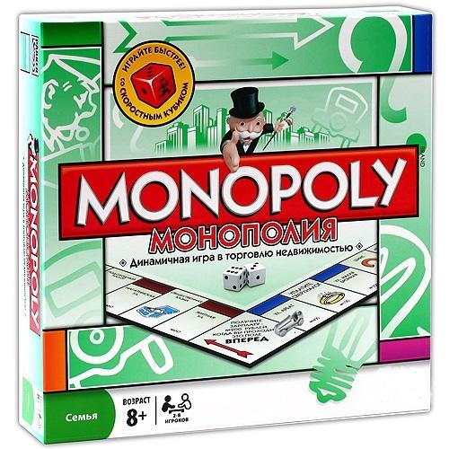 Настольная игра Монополия Классическая