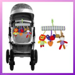 P57009 Музыкальная подвеска с игрушками в кроватку/коляску (BABUTKA)