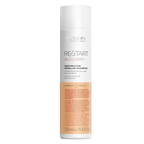 REVLON Restart Recovery: Мицеллярный шампунь для поврежденных волос (Restorative Micellar Shampoo), 250мл/1л