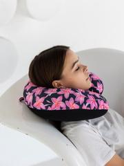 Подушка для шеи, подголовник Gekoko «Плюмерии» 2