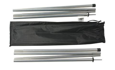 Набор алюминиевых стоек 16х240 см, 2 шт Alexika Alu poles set 1.6x240 см
