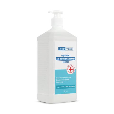 Рідке мило з антибактеріальним ефектом Евкаліпт-Розмарин Touch Protect 1 L (1)