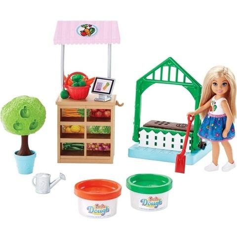 Барби Игровой Набор с Садом и Челси