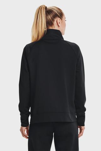 Женский черный свитшот Recover Tricot Jacket Under Armour