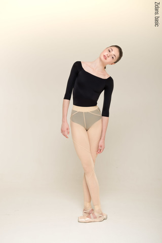 Translucent leggings Zi'ggins | beige