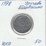V0838 1998 Уругвай 50 сентесимо