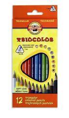 Карандаши цветные TRIOCOLOR 3132, 12 цветов