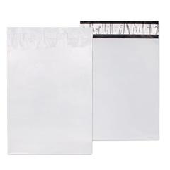 Курьерский пакет 190*240+40 мм, белый, без логотипа без кармана, 10 шт