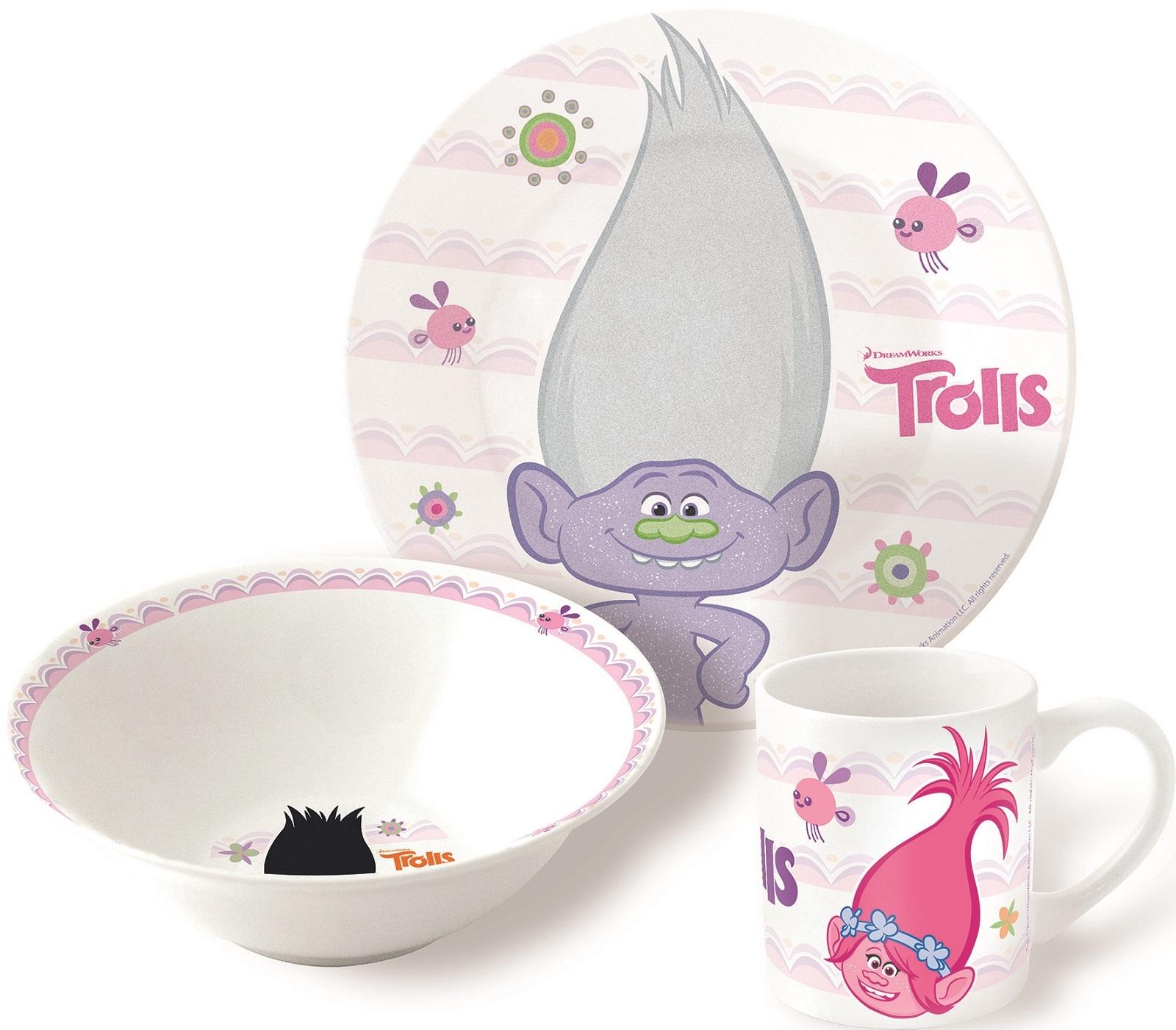 Тролли Набор керамической посуды — Posuda Trolls