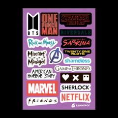 Набор стикеров Las Logos #2