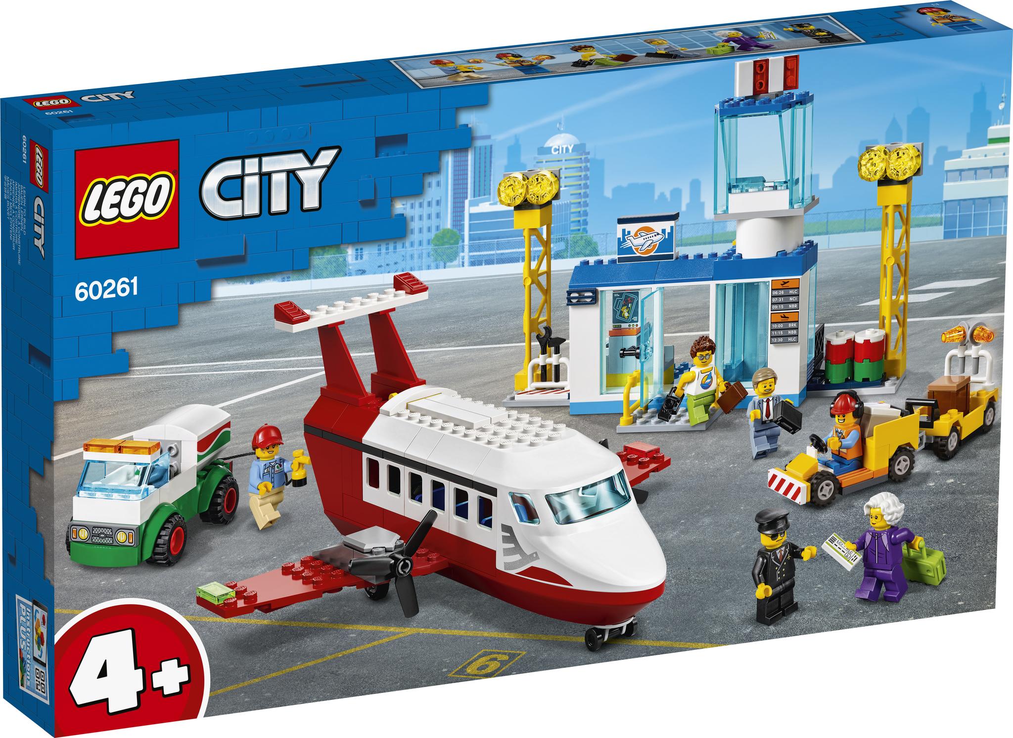 LEGO City 60261 Конструктор ЛЕГО Городской аэропорт