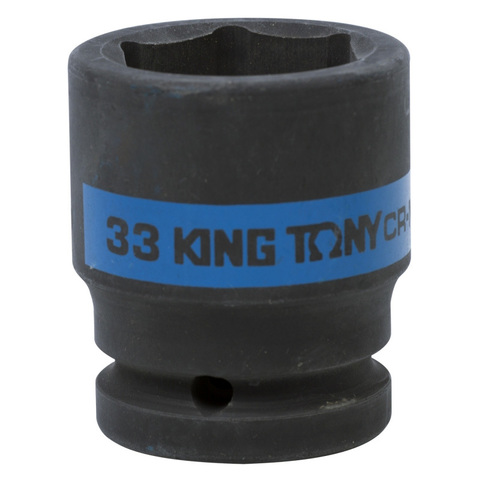KING TONY (653533M) Головка торцевая ударная шестигранная 3/4