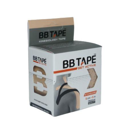 BBtape кинезио тейп 5см х 5м (бежевый) NEW