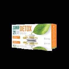 Çay \ Чай \ Tea Herba Flora Zərif Detox (paket) 25 ədəd