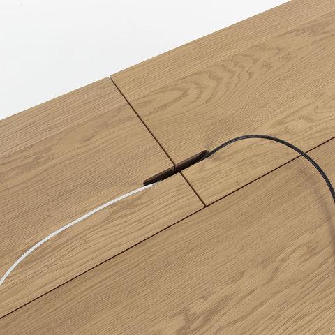 Рабочий стол Jakes 120x70 натуральный шпон