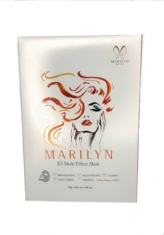 Маска тканевая для лица MARILYN X5 Multi Effect Mask, 1 штука