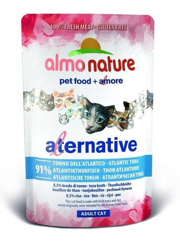 Паучи Almo Nature Alternative - Atlantic Tuna