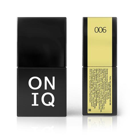 OGP-006 Гель-лак для покрытия ногтей. PANTONE: Yellow iris