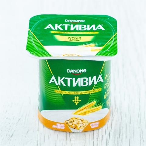 Йогурт АКТИВИЯ Отруби Злаки 2,9% 120 гр Danone РОССИЯ