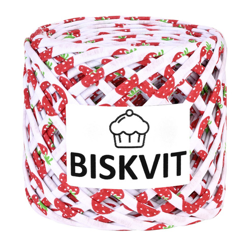 Пряжа Biskvit Земляника