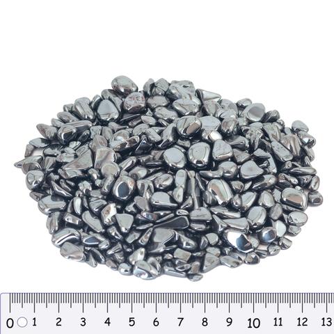 Гематит, 100 г, для декорирования (4-8мм)