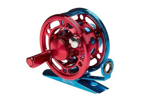 Катушка инерционная Higashi H-50 Blue/Red