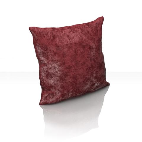Подушка декоративная Вероника план люкс бордовый