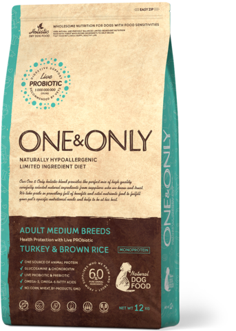 One&Only Adult Medium Breeds Turkey & Brown Rice
