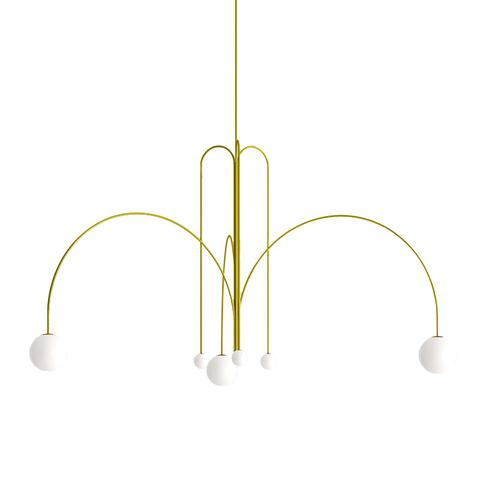 Потолочный светильник Spring by Michael Anastassiades (золотой)