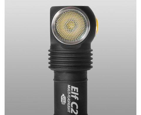 Фонарь ARMYTEK ELF C2 MICRO-USB Холодный