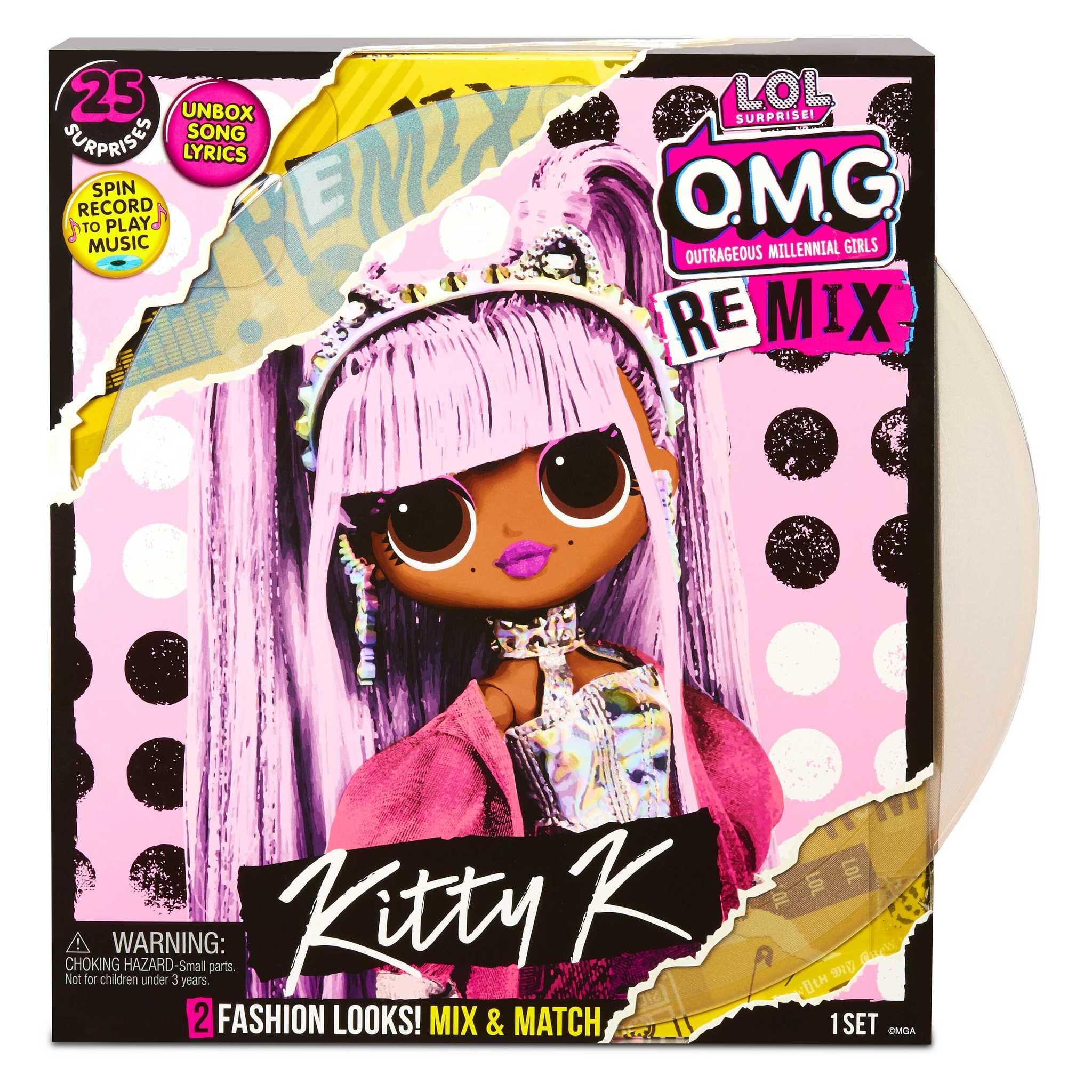 Кукла L.O.L. Surprise! O.M.G. Remix Kitty K Fashion Doll, 567240