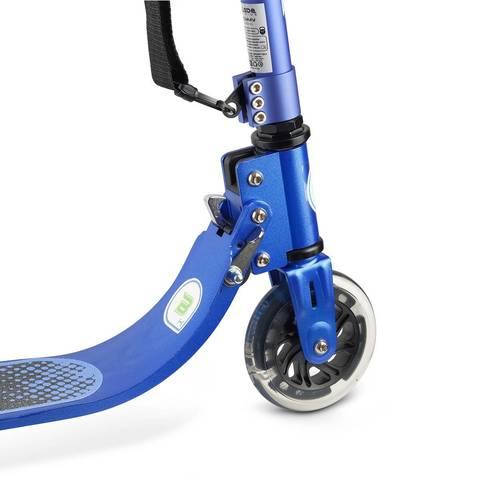 купить синий двухколесный самокат со светящимися колесами BLADE Kids Jimmy 125