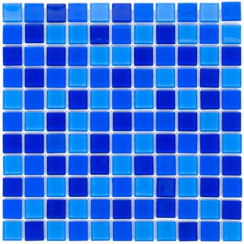 Мозаика стеклянная Aquaviva Сristall Jamaika темная DCM301 / 17387