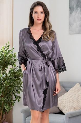 Халат женский MIA-Amore LAURA ЛАУРА 3293 серый
