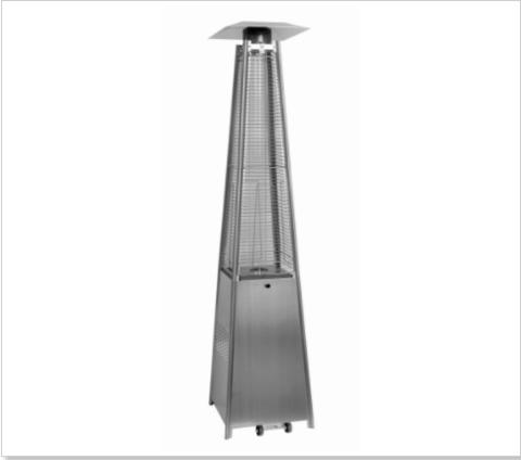 Уличный газовый обогреватель Aesto A-06 (silver)