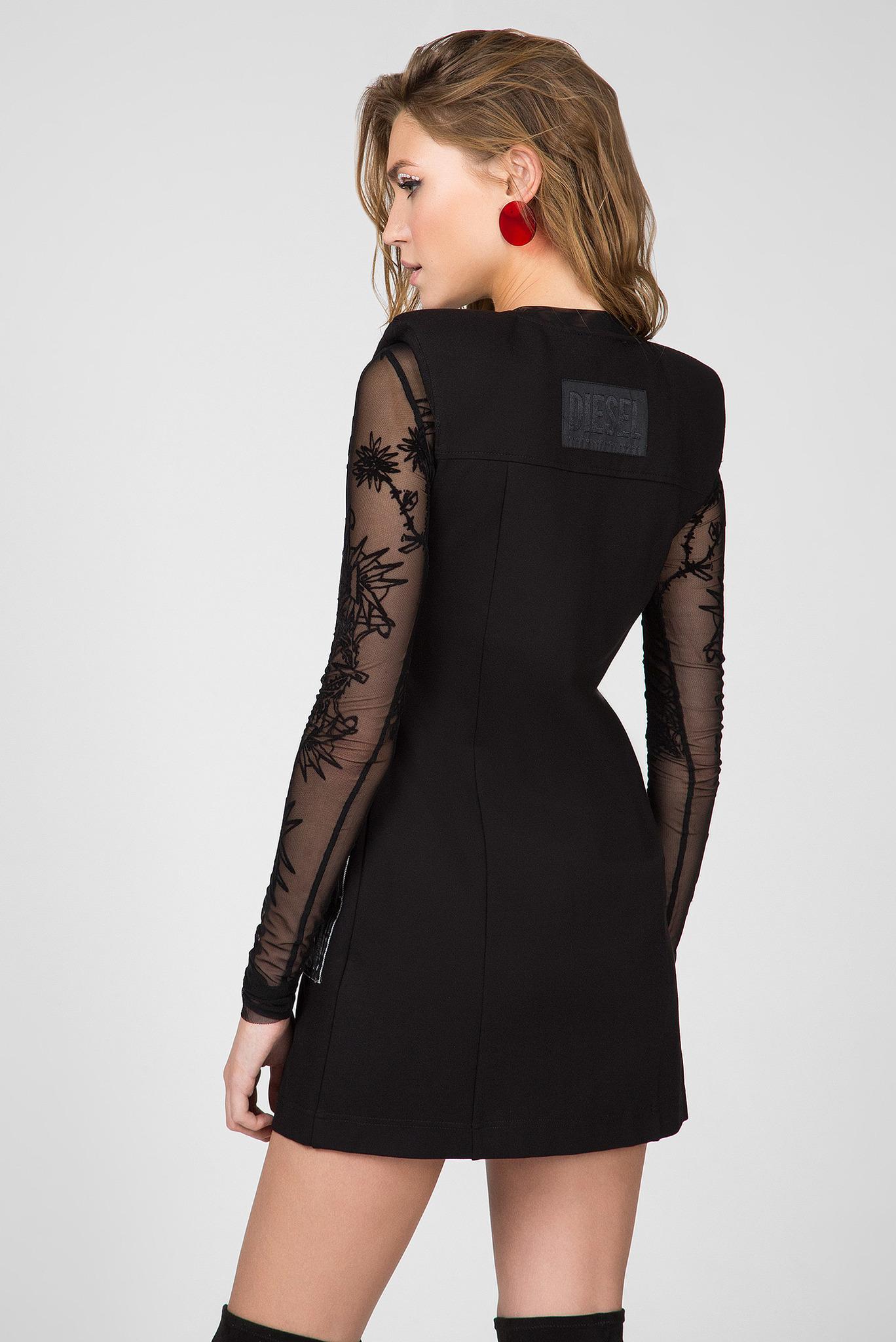 Женское черное платье D-SKUSA Diesel