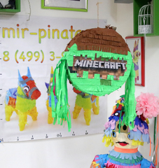 Пиньята Minecraft таблетка