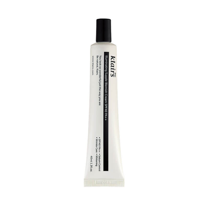 Тон BB Klairs Illuminating Supple Blemish Cream SPF40 40 мл