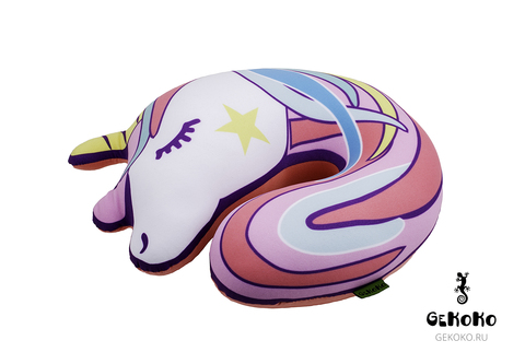 Подушка-подголовник Gekoko «Единорог» 2