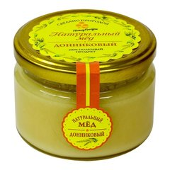 Набор (2 шт.) натурального меда HoneyForYou: донниковый мед - 250г., липовый мед - 250г.