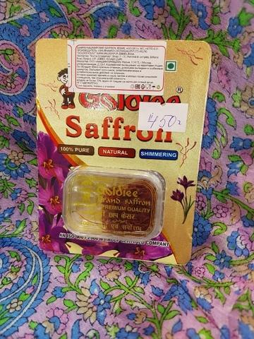 Шафран натуральный Goldee, 0,5 г Индия