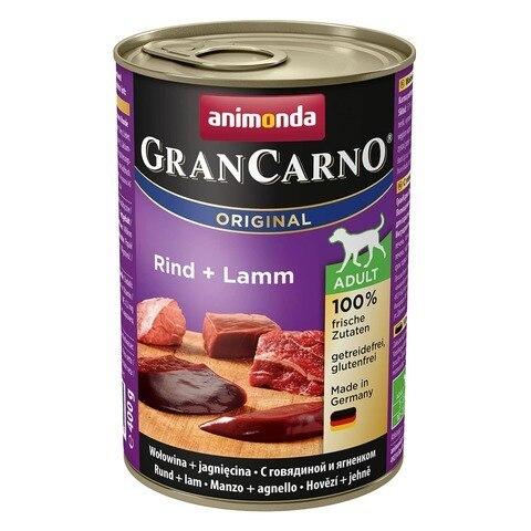 Animonda GranCarno Original Adult с говядиной и ягненком